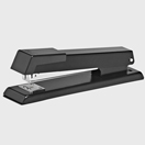 Metal half strip stapler