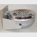 Wall Mounted Ashtray Chrome Plated Top