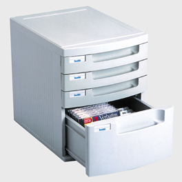 A4 4 Drawer Multimedia
