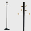 Coat & Hat stand with 6